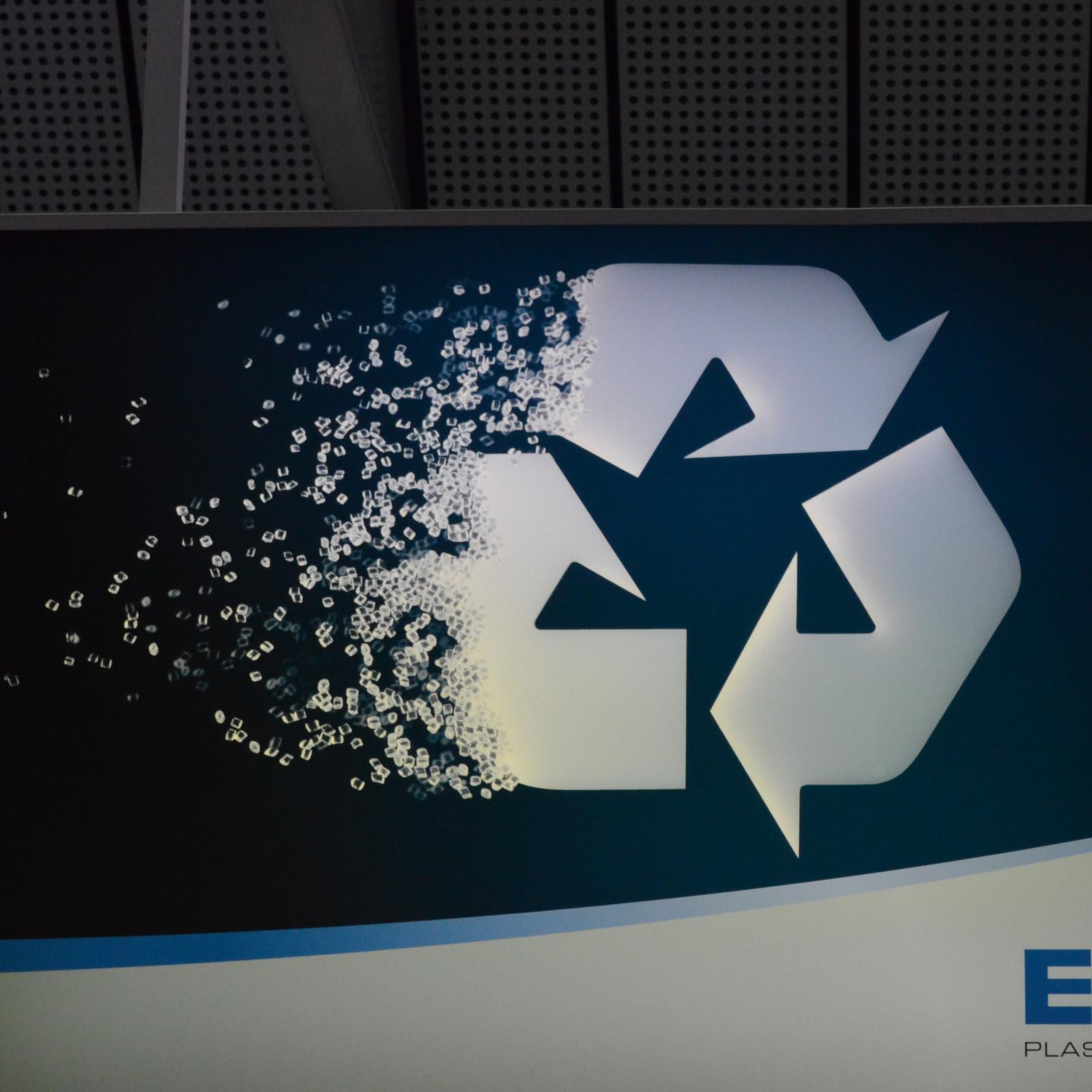 Logo recycle se dissout